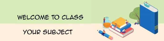 Google Classroom Header Template 16