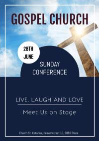 Gospel Concert Church Pastor Music Event