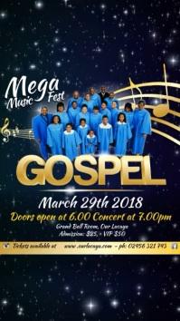 Gospel Event Template