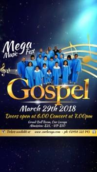 Gospel Event Template Digital Display (9:16)