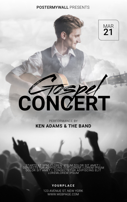 Gospel Flyer Template Kindle-Cover
