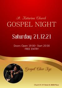 Gospel Night Music Concert Church Conference