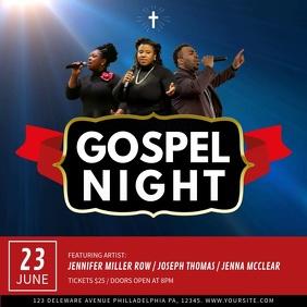 Gospel Night Square Video