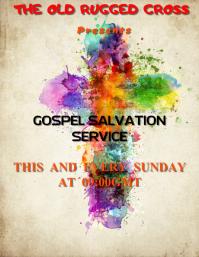 Gospel Salvation Template
