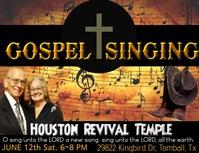 GOSPEL SINGING 101 Flyer (US Letter) template