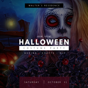 Gothic Halloween Instagram Template