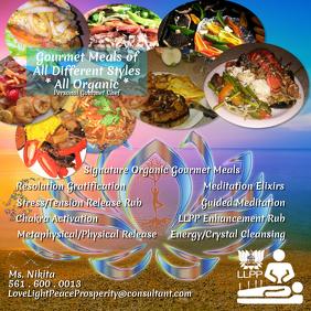 Gourmet Meal & Misc. Advertisement