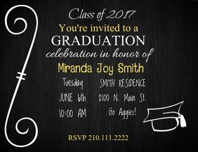 Grad Invite Template