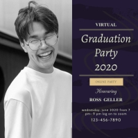 Grad Party Live Stream Invite