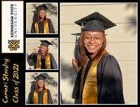 Graduate Collage Folder (US Letter) template