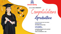 Graduate wish Foto di copertina del canale YouTube template