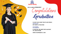 Graduate wish Blog Header template