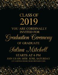 Graduation, Graduates, Congrates Graduates Flyer (US Letter) template