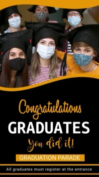 Graduation,event, party Instagram Story template