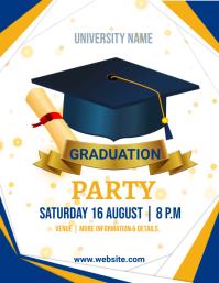 School,Graduation,event, party Iflaya (Incwadi ye-US) template