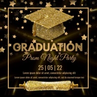 Graduation,event, party โพสต์บน Instagram template