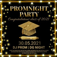 Graduation,event, party Digitalanzeige (16:9) template