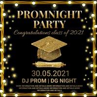 Graduation,important announcement,party Publicación de Instagram template