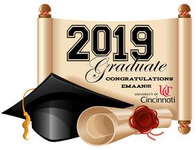 Graduation | Chase 传单(美国信函) template