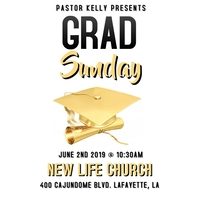 GRADUATION 2019 CHURCH FLYER 专辑封面 template
