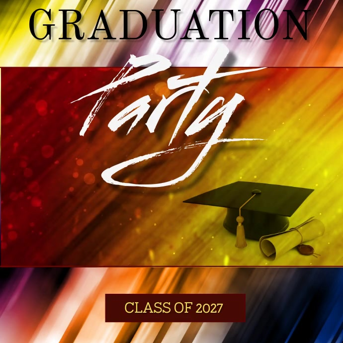 GRADUATION AD VIDEO TEMPLATE