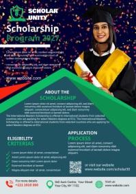 Graduation Announcement A4 template