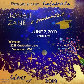 Graduation Announcement Video