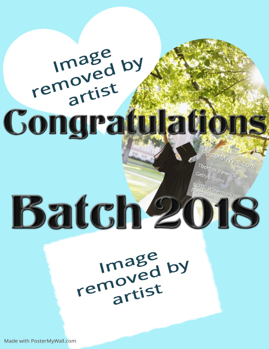 graduation banner template postermywall
