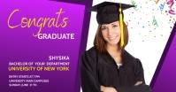 graduation celebration Facebook Gedeelde Prent template