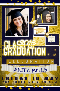 GRADUATION CELEBRATION WALL ART GIFT INVITE POSTER