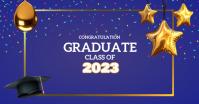 Graduation Ceremony, Graduates รูปภาพที่แบ่งปันบน Facebook template