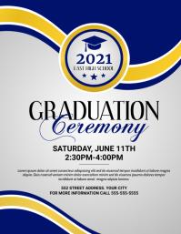 Graduation Ceremony Flyer (US Letter) template