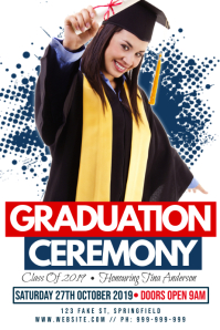 Graduation Ceremony Poster