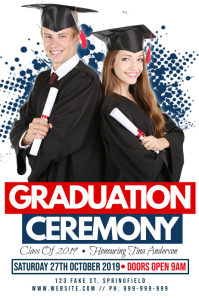 Graduation Ceremony Poster