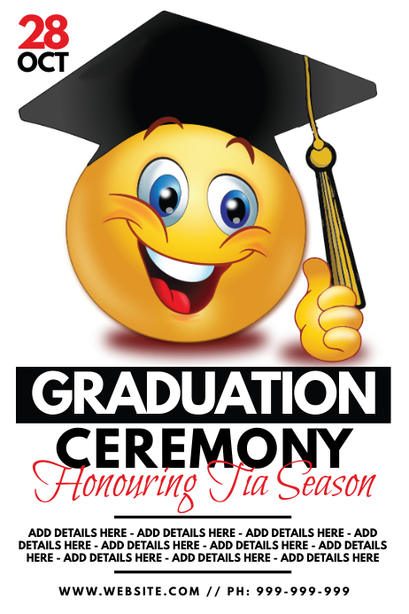 Graduation Ceremony Template from d1csarkz8obe9u.cloudfront.net