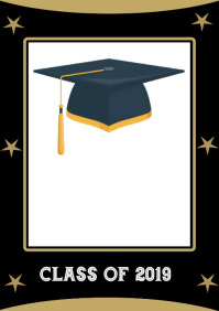 Graduation class event flyer template