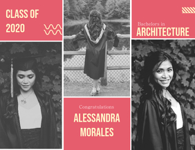 Graduation Congratulations Collage Template