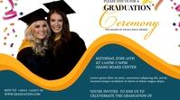 Graduation Congratulations Post Publicación de Twitter template