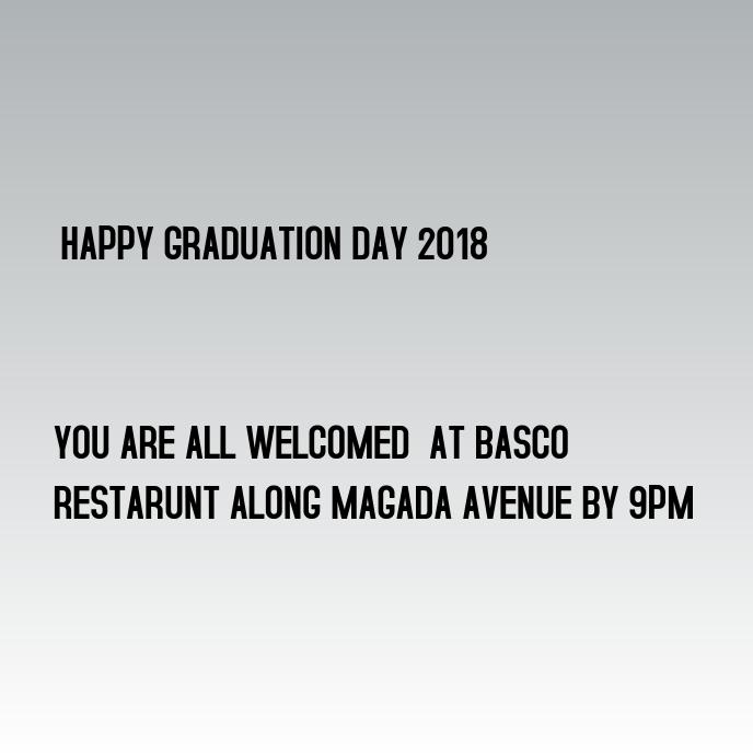 Graduation day event