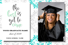 Graduation Label template