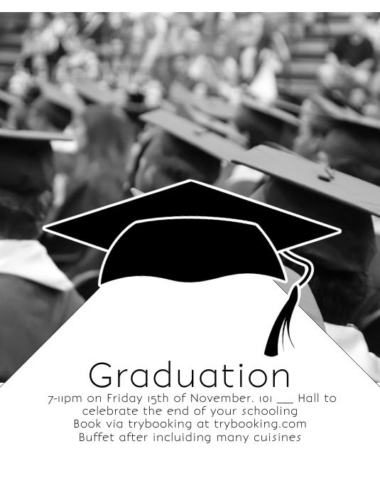 Graduation Iflaya (Incwadi ye-US) template