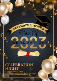 Graduation A4 template