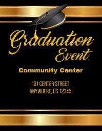 Graduation Event Flyer