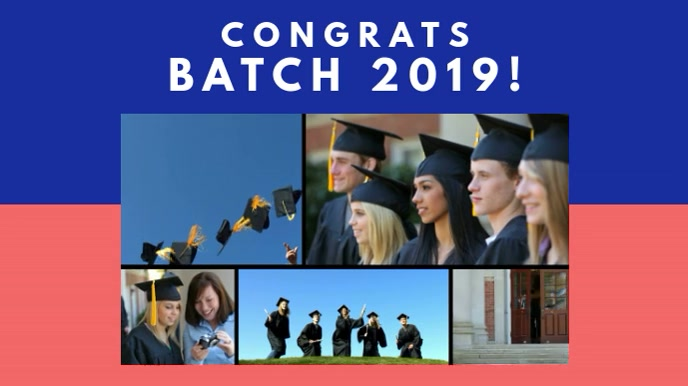 Create Free Graduation Picture Collages | PosterMyWall