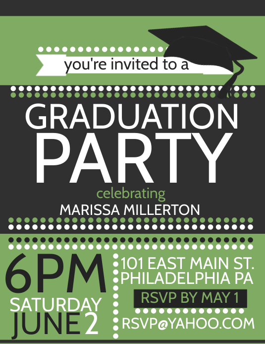 Flyer Description: Graduation Flyer Template Was Designed For Exclusively  Corporate And Small Scale Companies. Also It Can Be Used For Variety  Purposes.