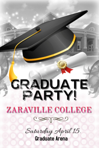 17200 Customizable Design Templates For Graduation Party