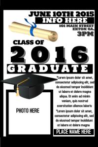 Customizable Design Templates for Graduation   PosterMyWall