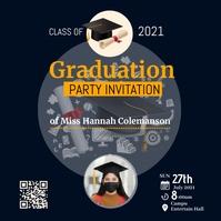 Graduation Instagram Template 2 Logo