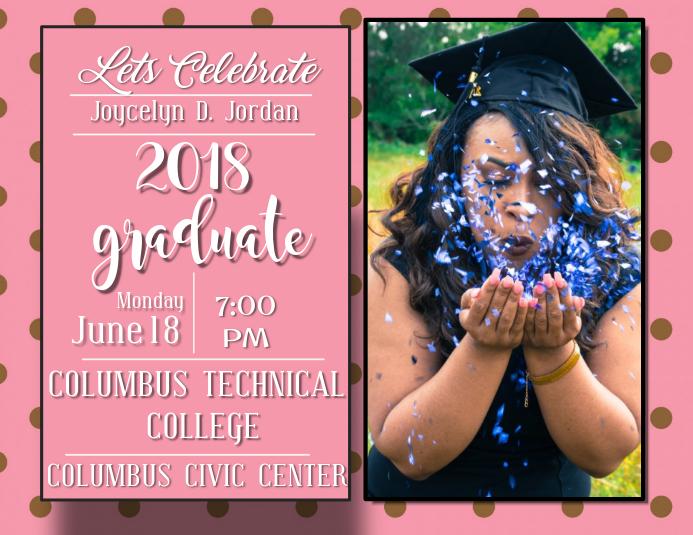 Graduation Invitation Template Postermywall