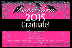 Graduation Poster Templates PosterMyWall - College graduation announcements templates